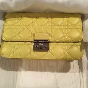 Christian Dior Lambskin Miss Dior Prominade Bag